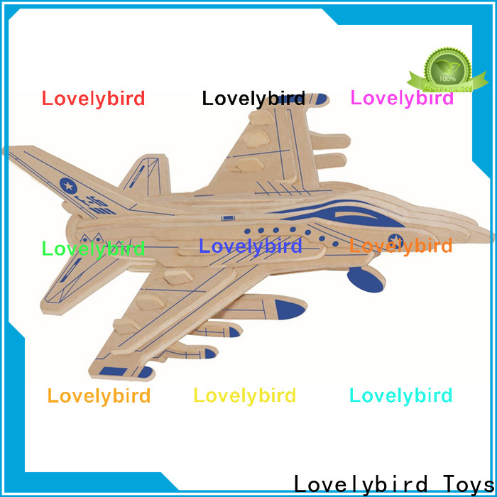 Lovelybird Toys new 3d puzzle military supply for adults