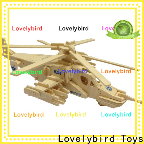 Lovelybird Toys new 3d puzzle military supply for kids
