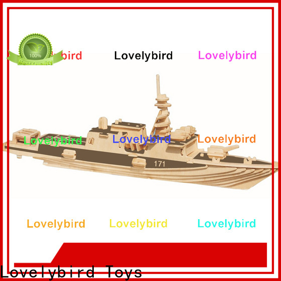 Lovelybird Toys new 3d puzzle military company for entertainment