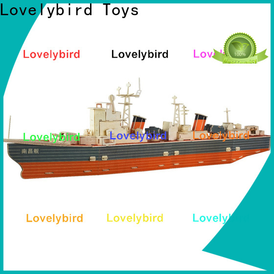 Lovelybird Toys best 3d puzzle military suppliers for adults