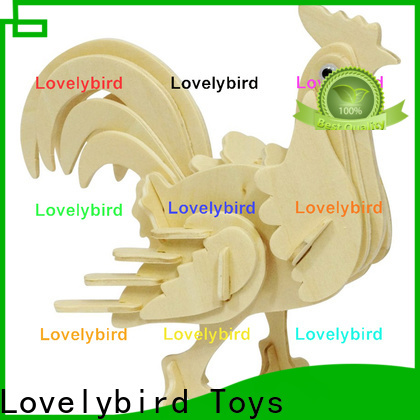 Lovelybird Toys 3d wooden animal puzzle manufacturers for entertainment