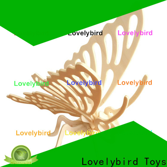 Lovelybird Toys fast delivery 3d wooden animal puzzle company for sale