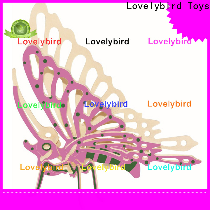 Lovelybird Toys top wooden 3d animal puzzles factory for present