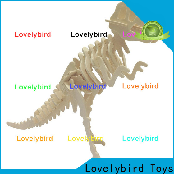 Lovelybird Toys wooden 3d animal puzzles factory for kids
