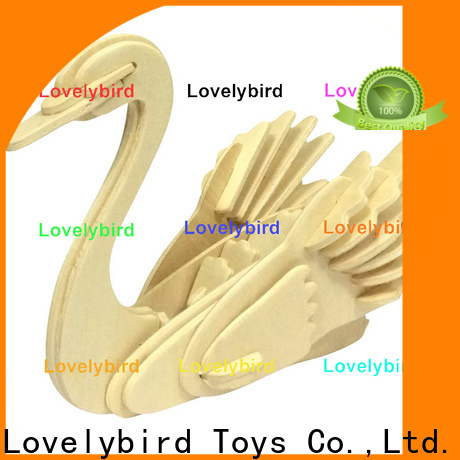 Lovelybird Toys 3d wooden animal puzzle manufacturers for present