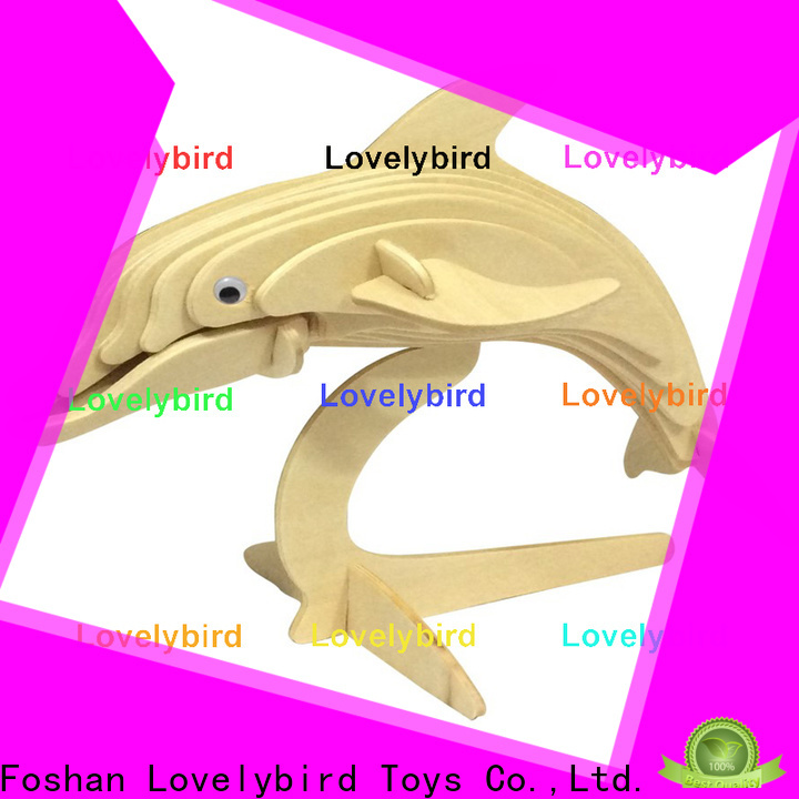 Lovelybird Toys 3d wooden animal puzzle company for present