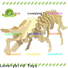 wholesale 3d wooden animal puzzle company for kids