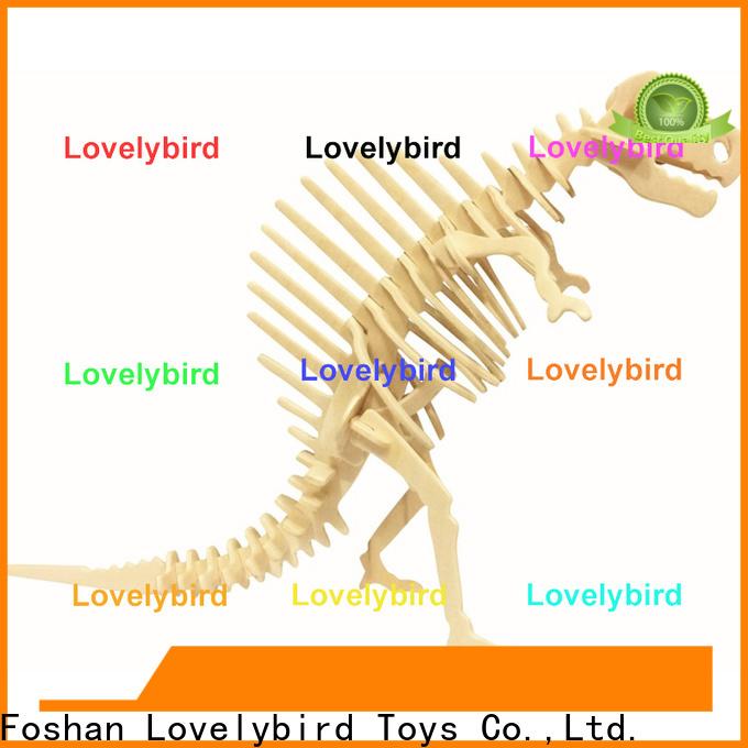 wholesale 3d wooden puzzle animals suppliers for sale