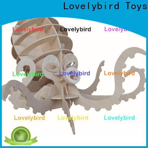 Lovelybird Toys wooden 3d animal puzzles suppliers for entertainment