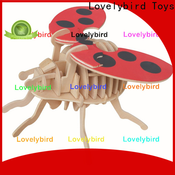 Lovelybird Toys wooden 3d animal puzzles suppliers for sale