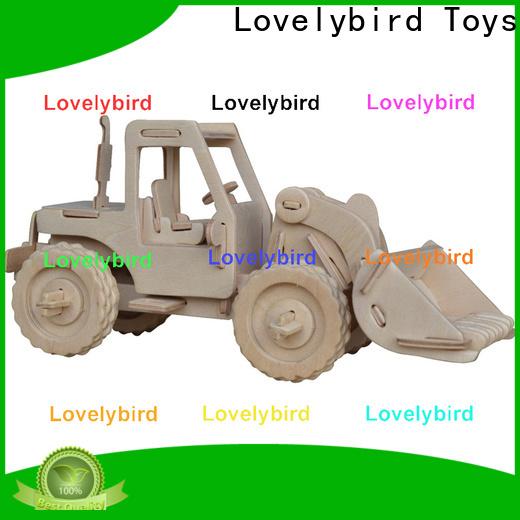 Lovelybird Toys custom 3d truck puzzle factory for present