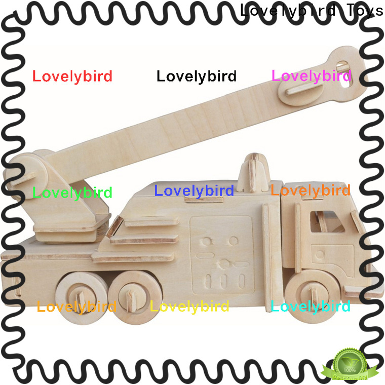 Lovelybird Toys 3d puzzle truck company for present