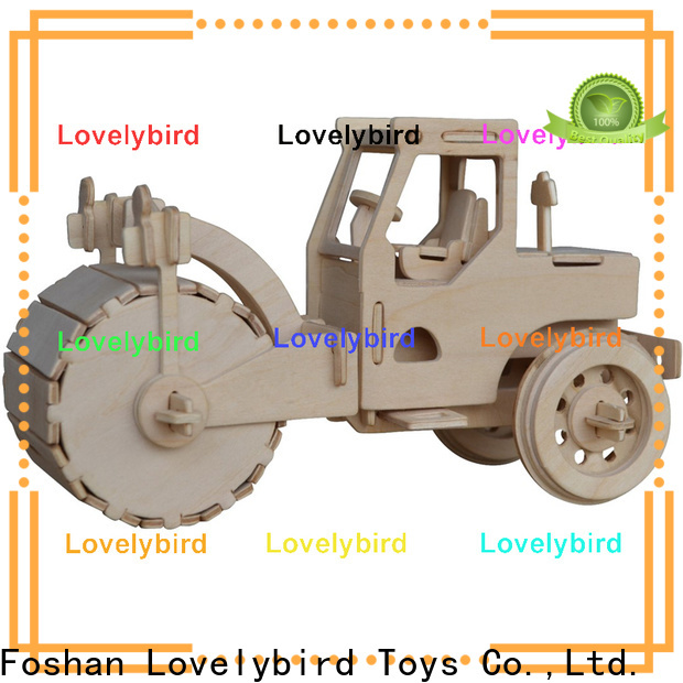 Lovelybird Toys 3d truck puzzle factory for entertainment