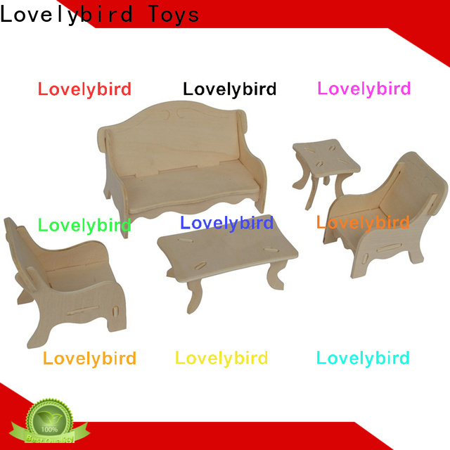 Lovelybird Toys new 3d puzzle furniture factory for game