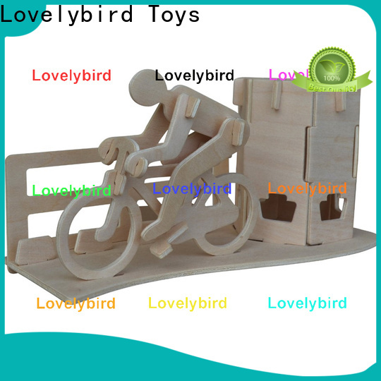 Lovelybird Toys 3d wooden puzzle dollhouse furniture manufacturers for business