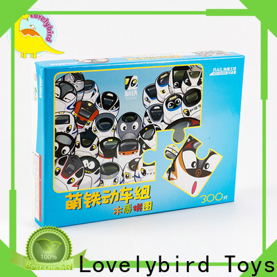 Lovelybird Toys best wooden jigsaw puzzles for adults with poster for adult