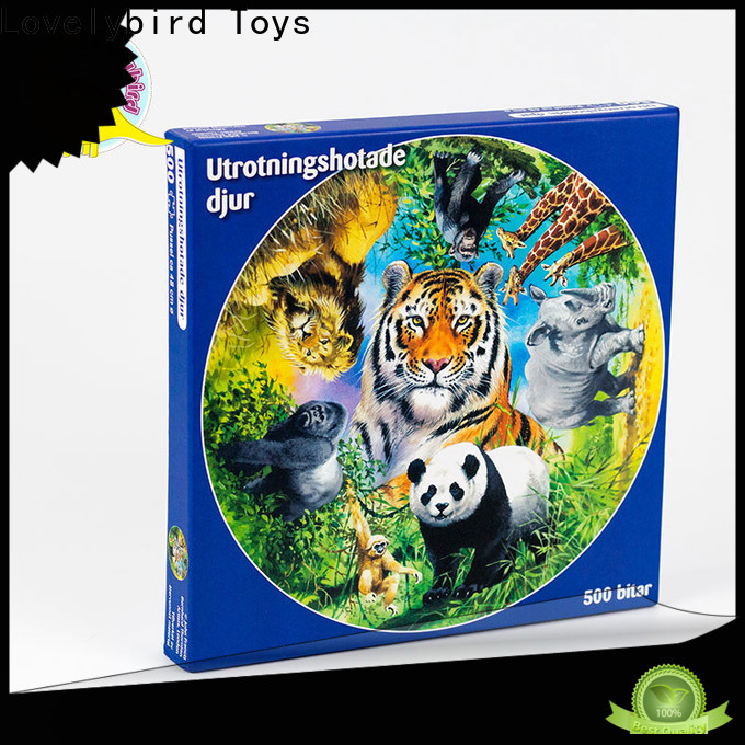 Lovelybird Toys 500 jigsaw puzzles supply for sale