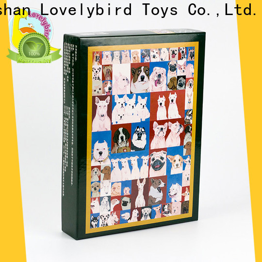 Lovelybird Toys wooden jigsaw puzzles toy for activities