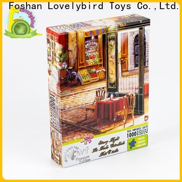 Lovelybird Toys custom animal jigsaw puzzles manufacturers for kids