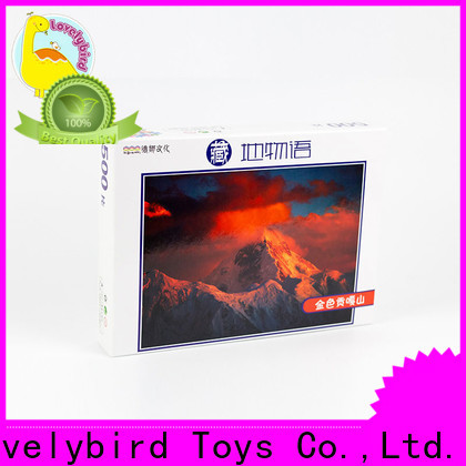 Lovelybird Toys high-quality wooden puzzles for adults with frame for adult