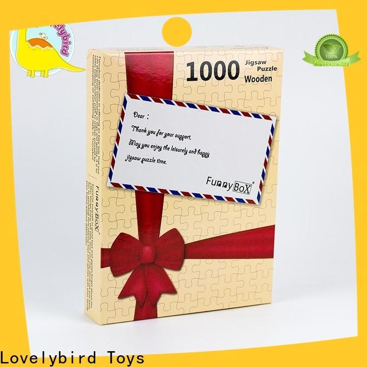Lovelybird Toys 1000 jigsaw puzzles company for kids
