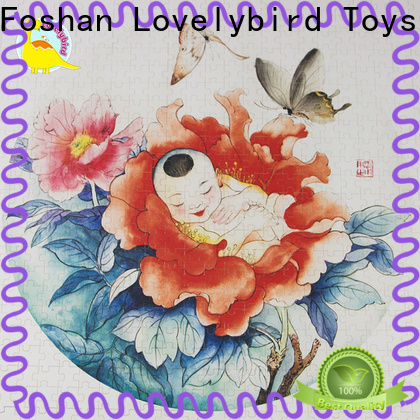 Lovelybird Toys wholesale childrens wooden puzzles toy for entertainment