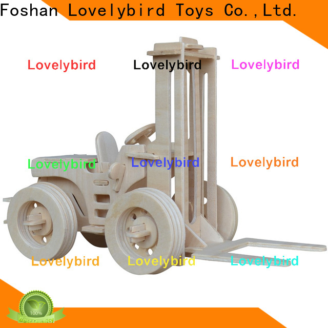 Lovelybird Toys new 3d truck puzzle manufacturers for adults