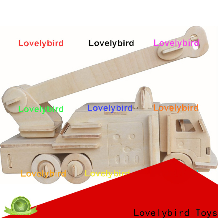 Lovelybird Toys best 3d truck puzzle suppliers for kids