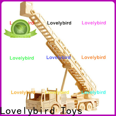 Lovelybird Toys 3d truck puzzle manufacturers for adults
