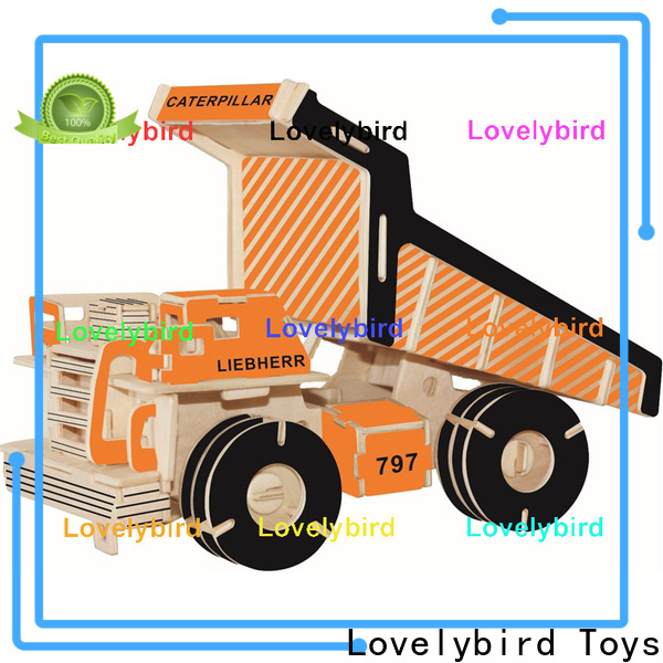 Lovelybird Toys 3d puzzle truck factory for entertainment