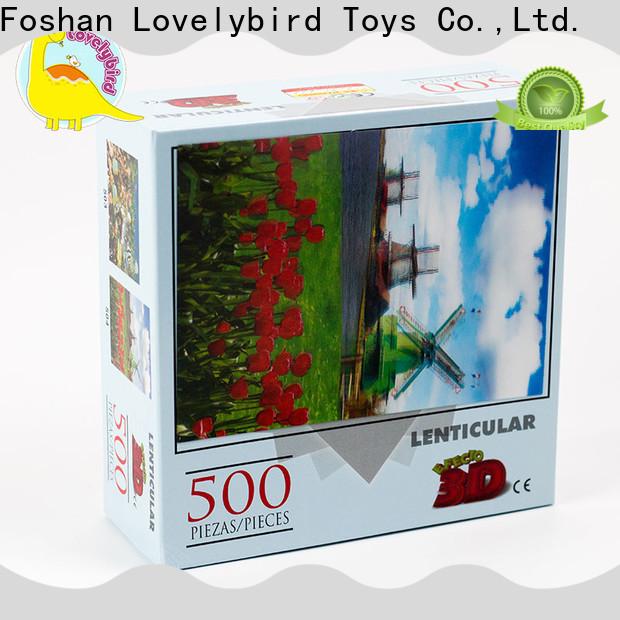 Lovelybird Toys custom big jigsaw puzzle suppliers for entertainment