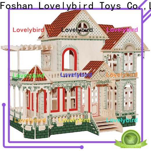 Lovelybird Toys interesting 3d building puzzle suppliers for kids