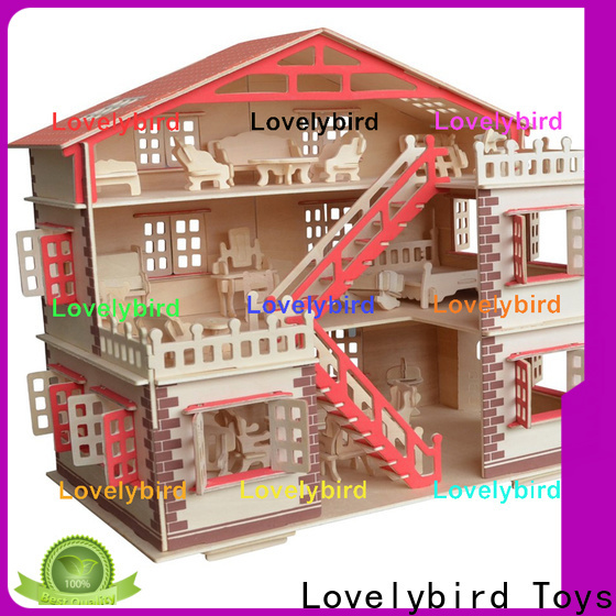 best 3d wooden puzzle house company for adults