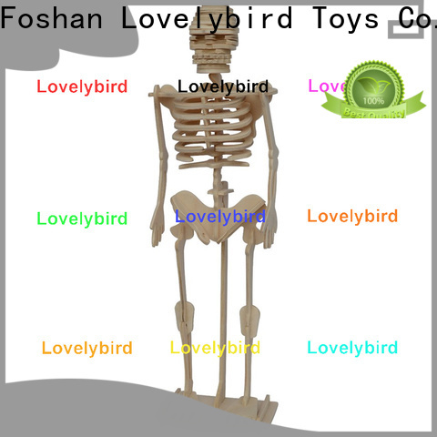 Lovelybird Toys 3d wooden puzzle animals supply for adults