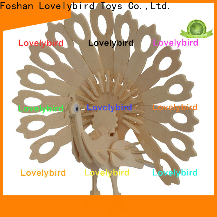 Lovelybird Toys wooden 3d animal puzzles manufacturers for business