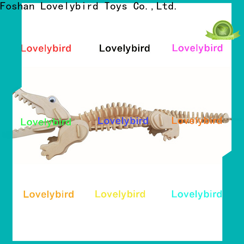 Lovelybird Toys best wooden 3d animal puzzles suppliers for adults
