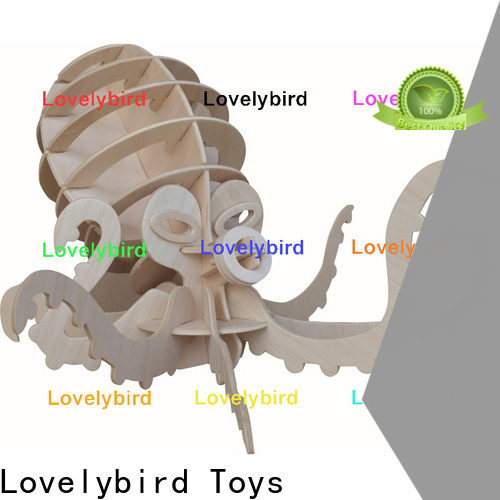 Lovelybird Toys 3d wooden puzzle animals supply for sale