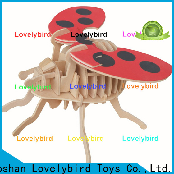 Lovelybird Toys wholesale 3d wooden puzzle animals suppliers for entertainment