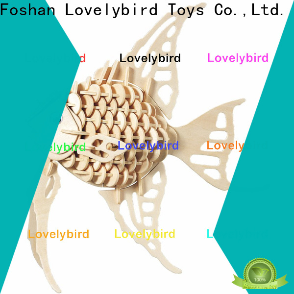 Lovelybird Toys beautiful 3d wooden puzzle animals factory for business