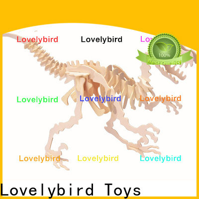Lovelybird Toys latest 3d wooden animal puzzle company for adults