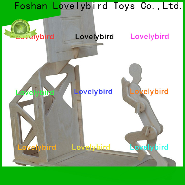 Lovelybird Toys new 3d wooden puzzle dollhouse furniture suppliers for adult