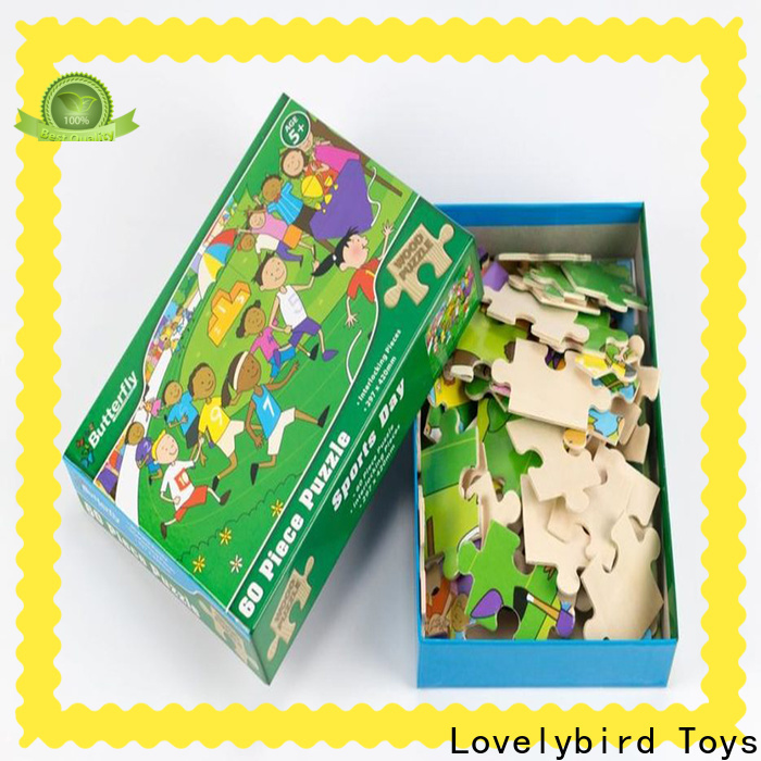 latest childrens wooden puzzles with poster for activities