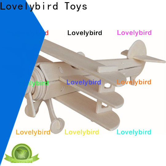 Lovelybird Toys 3d wooden car puzzle manufacturers for sale