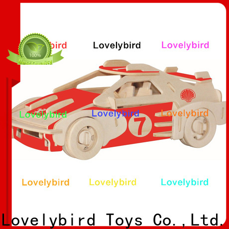 top 3d wooden car puzzle factory for business