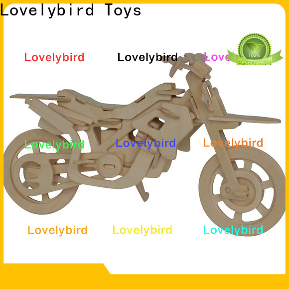 Lovelybird Toys wholesale 3d airplane puzzle suppliers for entertainment