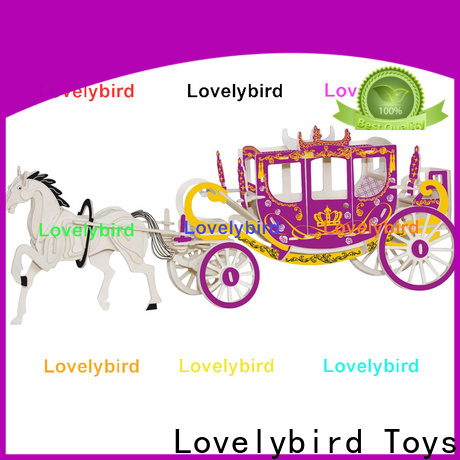 Lovelybird Toys 3d wooden puzzle ship suppliers for kids