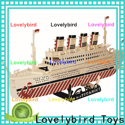 new 3d airplane puzzle company for kids