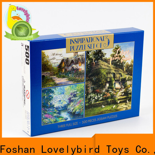 Lovelybird Toys best jigsaw puzzles factory for adult
