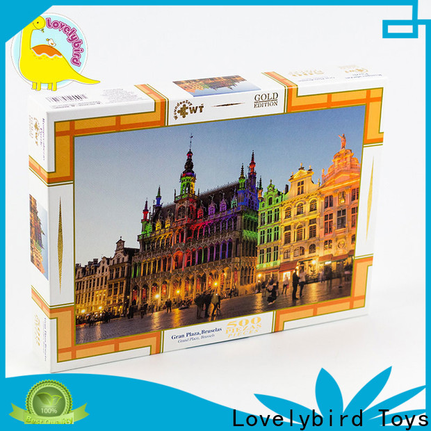 Lovelybird Toys popular new jigsaw puzzles factory for adult