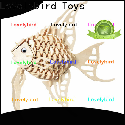 Lovelybird Toys 3d wooden animal puzzle suppliers for sale